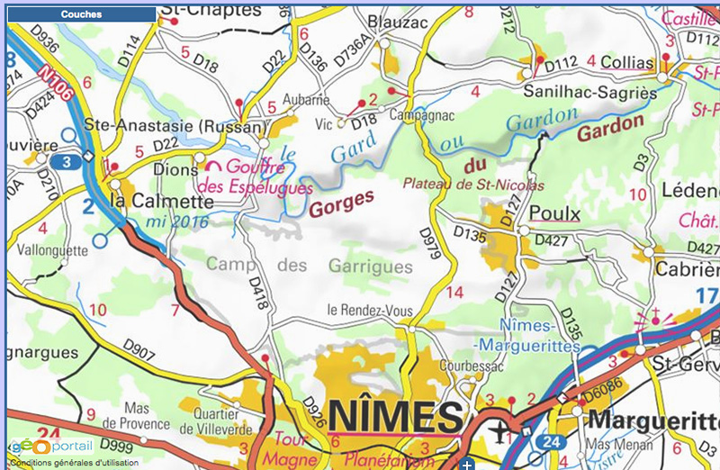 02 Entre Nimes et le Gardon