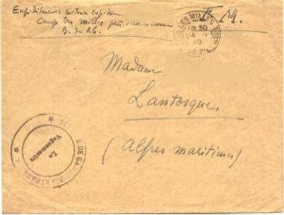 lettre Milles
