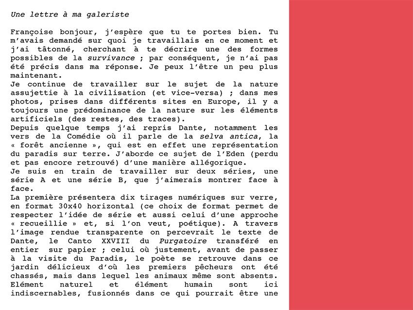 Spuglia lettre 1