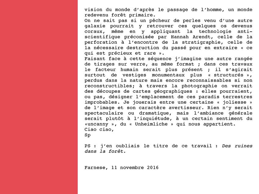 Spuglia lettre 2