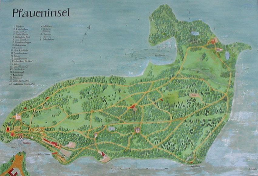 17 Piantina Pfaueninsel