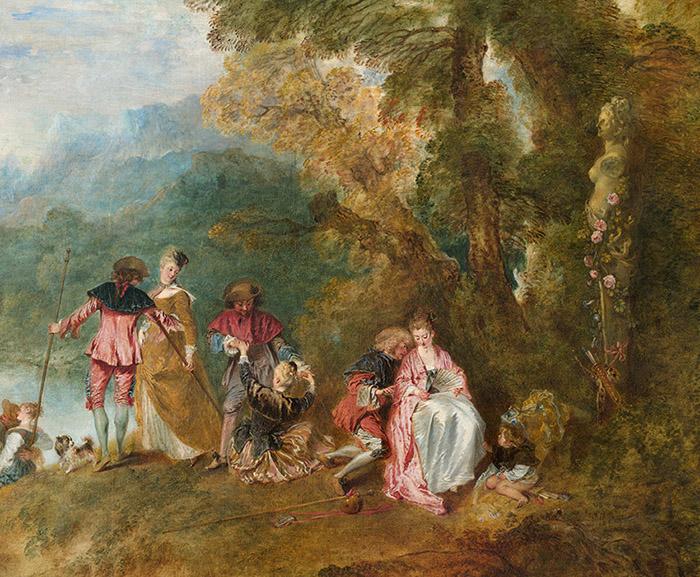 Watteau detail
